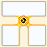 электронная почта охваывает получать почт иконы открытый Стоковые Изображения