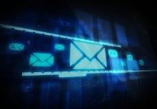 электронная почта Стоковые Фото