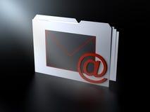 электронная почта стоковое изображение rf