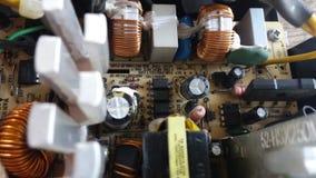 Электронная цепь электропитания Стоковое Изображение