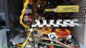Электронная цепь электропитания Стоковое фото RF