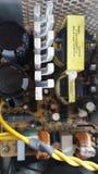 Электронная цепь электропитания Стоковые Фотографии RF