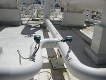 Электронные датчики давления и температуры Стоковая Фотография