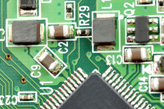 Электронные блоки и приборы Стоковое Изображение