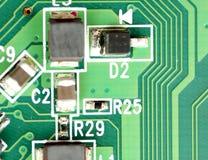Электронные блоки и приборы Стоковое Фото