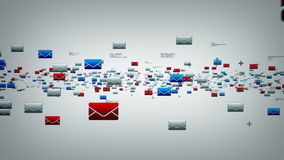 Электронные почты белые