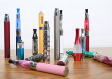 Электронные сигареты Стоковая Фотография