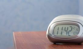 Электронные часы стоковое фото rf