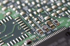 Электронные compontents Стоковое фото RF