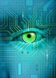 электронный глаз бесплатная иллюстрация