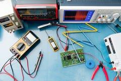Электронный измерять Стоковая Фотография