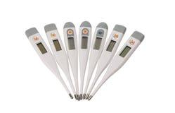Электронный изолированный термометр Стоковое фото RF