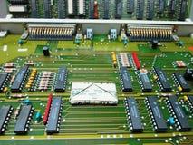 Электронный и деньг Технология и финансы Стоковое Изображение RF