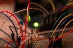 Электронный прототип Стоковые Изображения RF