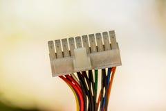 Электропитание для компьютера ПК Стоковое фото RF