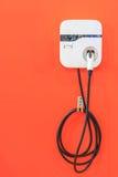 Электропитание для поручать электрический автомобиль Стоковая Фотография RF