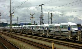Электропоезд в Германии Стоковые Изображения RF