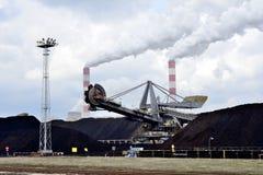 Электростанция бурого угля Стоковое Изображение RF