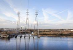 Электростанция Джексонвилла Стоковое фото RF