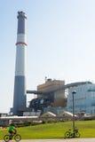 Электростанция чтения Стоковые Изображения