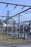 Электростанция для делать электричество на Лугано стоковые фотографии rf