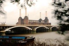 электростанция london battersea Стоковое Изображение RF