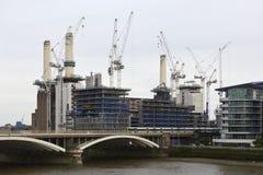 электростанция london battersea Стоковая Фотография