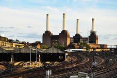 электростанция london battersea Стоковое фото RF