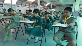 Элементарные студенты урок испытания сток-видео