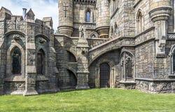 Элементы архитектуры в готическом стиле стоковые изображения rf