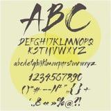 элементы алфавита scrapbooking вектор Стоковая Фотография