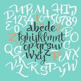 элементы алфавита scrapbooking вектор Стоковые Изображения