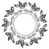 Элементы вектора нарисованные вручную Стоковое Фото