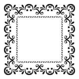 Элементы вектора нарисованные рукой декоративные Стоковые Изображения