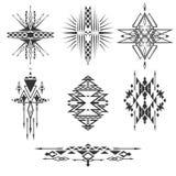 Элементы вектора племенные Стоковая Фотография