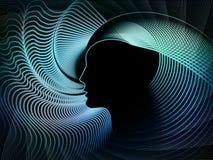 Элементы геометрии души иллюстрация вектора
