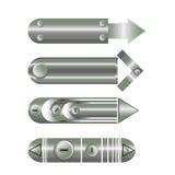 элементы дизайна вектора стрелок диаграммы 3d Стоковая Фотография