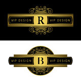 Элементы дизайна вензеля, грациозно шаблон Каллиграфическая элегантная линия дизайн логотипа искусства Пометьте буквами знак для  иллюстрация вектора