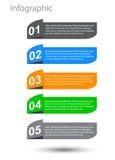 Элементы дизайна знамени Infographic Стоковые Фото