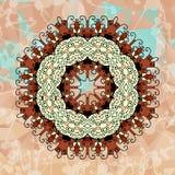 Элементы дизайна с абстрактной картиной Стоковое Фото