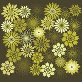 Элементы дизайна цветка playnig света цветка предпосылки Стоковые Изображения RF