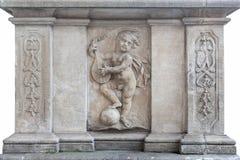 Элементы исторических арендуемых домов Стоковые Фото