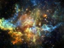 Элементы космоса Стоковая Фотография