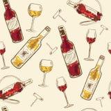 Элементы меню питья Стоковые Фото