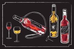 Элементы меню питья Стоковые Фотографии RF