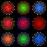 Элементы микрокосма бесплатная иллюстрация