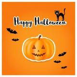 Элементы на хеллоуин Стоковые Изображения RF