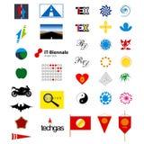 Элементы логотипа Стоковые Фотографии RF