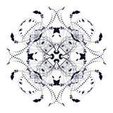 Элементы орнамента иллюстрация вектора