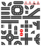 Элементы дороги Стоковые Изображения